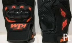 For Sale: BRAND NEW KTM Motorcycle Gloves (half) Note: