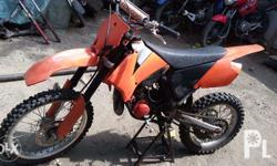 KTM Race Bike 85cc In very good condition Contact me