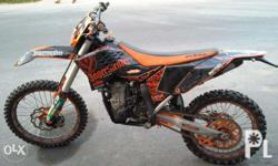 KTM 450SXF motox bike/road bike -Electric starter