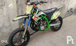 Kawasaki KX250cc with original O.R. anf C.R. Racing