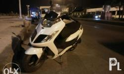 Kymco dink 200i 2011 200cc Engine Top speed 130(