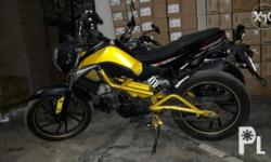 K pipe 125cc yellow, LED headlamp, newly registered