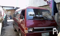 Rush Sale!!!! L300 Versa Van Diesel Engine Good Running