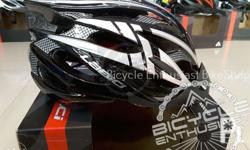 LA BICI Helmet (Glossy Black with Silver Lining) P1,200