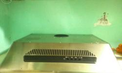 Stainless steel cover and never been used. Good as new.