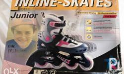 Inline Skates size 33 to 36. Use only few times. Kindly