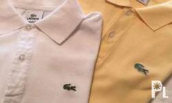 Slightly used Lacoste shirts