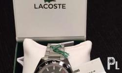 Brand new lacoste men's watch orig price $225 from