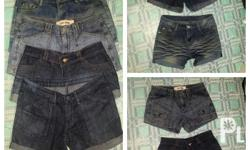 Ladies shorts, size 27, 120.00 each buy this 4 for only