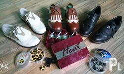 Ladies GOLF sHOES Brand are Honma, Adidas and footjoy