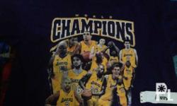 lakers 2010 championship shirt good condition adult xl