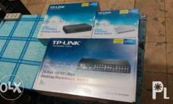 * 8port switch hub 100/mbps TPlink bnew PRICE:700