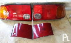 One pair of tail light in good condition (one ia
