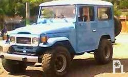 Description Condition: Used land CRUISER BJ-40: *toyota