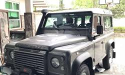 Land Rover Defender 90 2011 model 2.4 Puma Stornoway