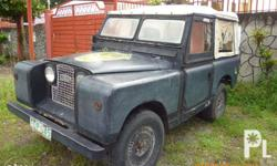For Sale! Land Rover series II 4x2 toyota i-beam and