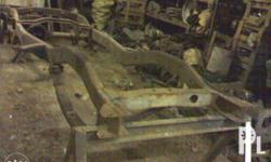 Landcruiser FJ55 chassis w/ leafsprings, w/o title,