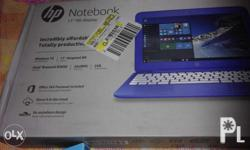 """I have 1 notebook hp 11"""" with windows 10 brand new"""