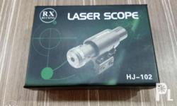 Laser scope Battery included With allen key brand new