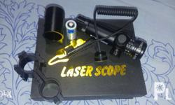 Laser Scope complete set Bought recently but never been