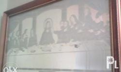 Last Supper mirror Background for only 5k Bacolod area