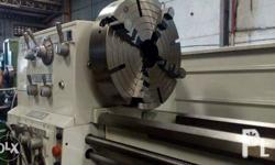 Made in japan, tawan, and euroe lathe machines. We are