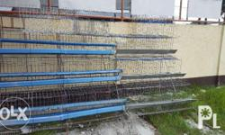 Brand new hot dip galvanize poultry layer cages