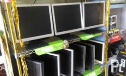"""LCD MONITOR ON SALE 17"""" LCD (black) """">1,600""""< - 19"""" LCD"""