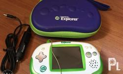 Leapfrog Leapster Explorer Great for toddlers and kids!