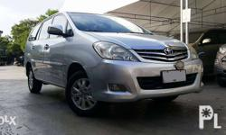 2009 Toyota Innova 2.0 V GAS AT 1st Owner! Top of the