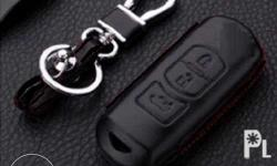 GENUINE LEATHER CASE KEY COVER - Protect your 2 or 3