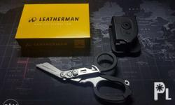 The Leatherman Raptor shears features the necessary