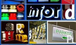 we can make your own signage, print in tarpaulin,