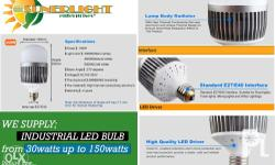 High Powered Industrial LED Bulb Comes with Samsung