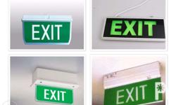 LED Exit Lights Size: Standard Specification: