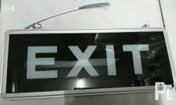 220v AC Input Indoor Use A. Exit Sign- P300.00 Exit