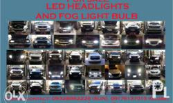 Selling LED bulbs for all types of vehicles Plug and