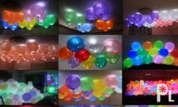 These LED balloons will make your parties and