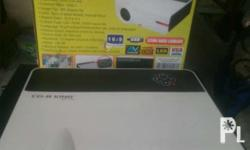 Projector with tv tuner, brand new, 3200 lumens,