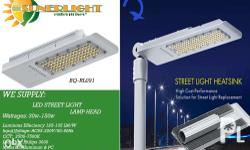 LED street lights applicable for both Solar and AC..
