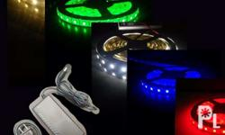 Smd5050 Led strip + 5A adapter More info please call or