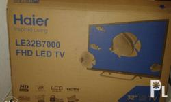 Brand: Haier Size: 32' Led tv/monitor was only used for