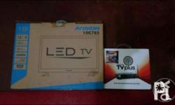 Slightly used LED TV PACKAGED WITH ABSCBN TV PLUS.