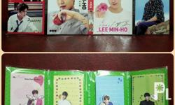 Selling Lee Min Ho Post-Its from Korea for Php280.