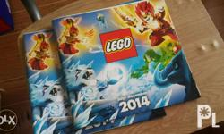 This is a 2014 July - December catalogue of the lego