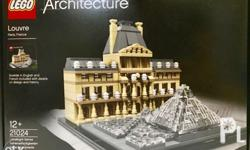 LEGO Architecture 21024 Louvre building kit. Sealed