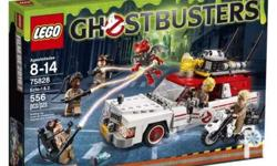 Authentic / Brand new / Sealed Lego Ghostbusters 75828,