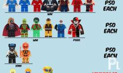 Decool/DLP/POGO/XINH-Brand Figures of Marvel/DC/Star