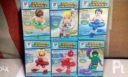 Dargo-Brand Minifigs of Marvel and DC Comics