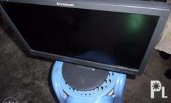 """I'm selling my monitor model LENOVO 19"""" LCDcomes with"""
